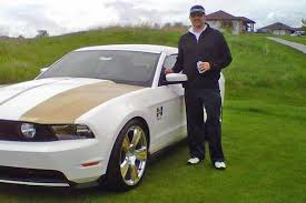 hurst mustang car salesman makes in one to win brand hurst mustang