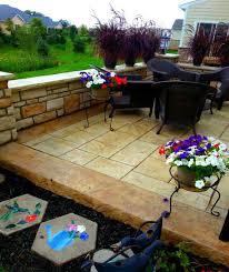 Brushed Concrete Patio Columbus Ohio U0027s Leader In Stamped Concrete Patios Driveways Sidewalks