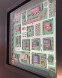 The Legend Of Zelda A Link Between Worlds Map by Take A Look At This Beautifully Crafted Map Of A Link To The Past