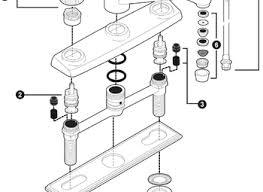 Kitchen Faucet Repair Parts Moen Single Handle Kitchen Faucet Parts Saffroniabaldwin Com