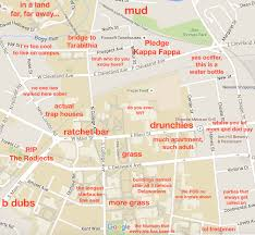 Michigan State Campus Map by The Judgmental Map Of Udthe Black Sheep