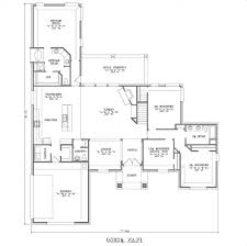 home design large one story house plans smalltowndjs with regard