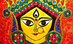 how to do glass painting on acrylic board durga art detail