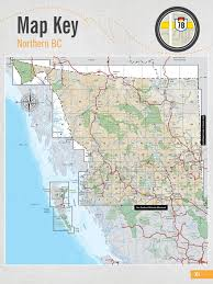map of bc northern bc backcountry maps