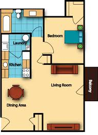 One Bedroom Apartment Floor Plans by The Hamptons Of Norton Shores Apartments Gillespie Group