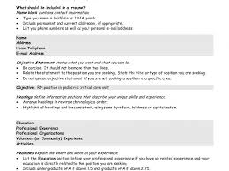 What Should Your Resume Title Be Picturesque Design It Resume Objective 14 Sample Lines Mary Ellen