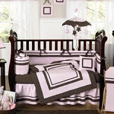 Pink Brown Crib Bedding Pink And Brown Hotel Modern Baby Bedding 9 Pc Crib Set Only 78 99