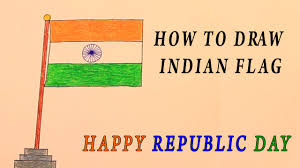 How To Draw A Flag Republic Day How To Draw Indian Sekspic Com Free Image Hosting