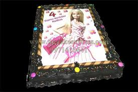 barbie doll photo cake cakes delivery gurgaon send