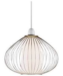 Wire Cage Light Chrome Wire Cage Light Shade 9259845 Amazon Co Uk Kitchen U0026 Home