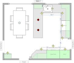 kitchen layout guide kitchen good looking recessed kitchen lighting layout design ideas