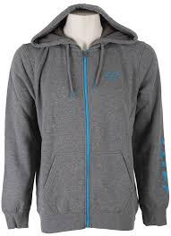 fox motocross hoodies amazon com fox men u0027s tracker zip fleece clothing
