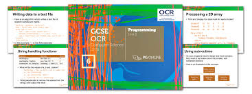 resources u003e gcse u003e gcse ocr u003e unit 6 programming techniques pg