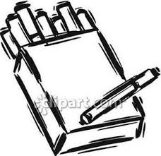 sketch of a pack of cigarettes royalty free clipart picture