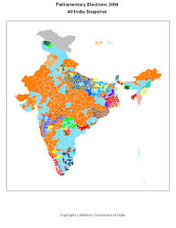 2004 Election Map elections 2004 data