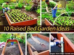 beautiful decoration raised garden ideas easy raised garden ideas
