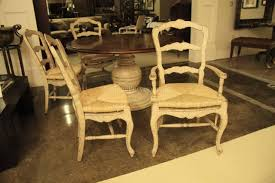 Shabby Chic Furniture Ct by White Painted Ladder Back French Country Chairs Shabby Chic