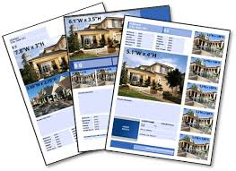 real estate listing template top 25 real estate flyers free templates
