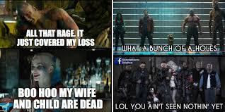Guardians Of The Galaxy Memes - guardians suicide squad memes cbr