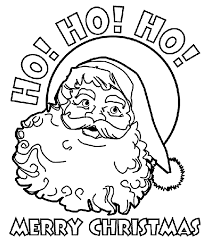 253 free santa coloring pages kids
