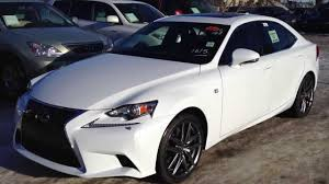 lexus sport 2014 2014 lexus is 350 awd executive f sport package in ultra white