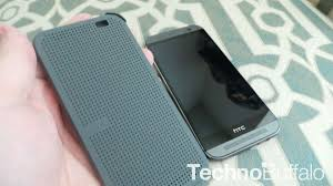 htc one m8 dot view case hands on