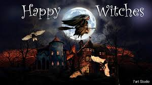 vintage witch wallpaper 7art happy witches screensaver and live animated wallpaper for
