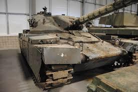the british chieftain tank fv4201