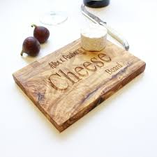 engraved cheese board the rustic dish personalised wooden chopping cheese board