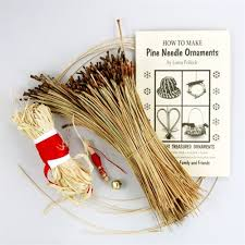 pine needle ornament kit
