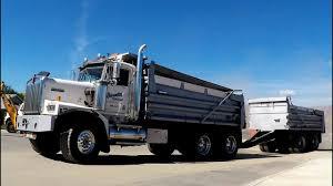 kenworth canada kenworth c500 dump truck w pup john deere equipment excavate