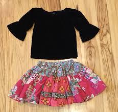 matilda jane holiday top and skirt sz 2 mercari buy u0026 sell