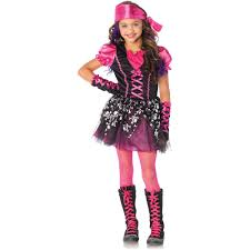 spirit halloween kids costumes pretty pirate child halloween costume walmart com