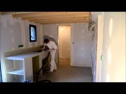 fabriquer meuble salle de bain beton cellulaire bg deco beton ciré matieres marius aurenti youtube