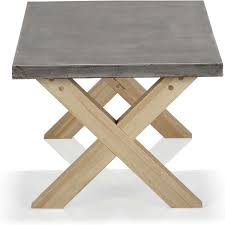 Table Basse Blanche Alinea by Table Basse Ronde Beton Cire U2013 Ezooq Com