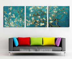 3 panel canva print van gogh oil painting reproduction painting 3 panel canva print van gogh oil painting reproduction painting living room wall art how to paint wood paneling