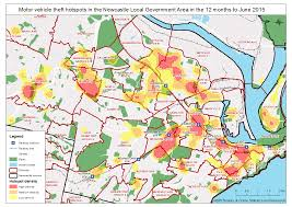 Crime Rate Map Explore Crime Hotspots In Nsw