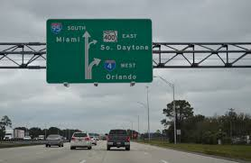 Orlando Traffic Map by Interstate Guide Interstate 4