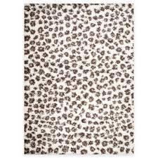 Safavieh Leopard Rug Buy Leopard Rug From Bed Bath U0026 Beyond
