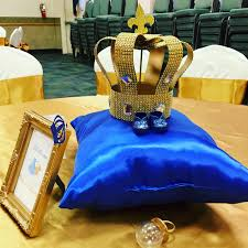 prince baby shower royal blue prince baby shower decorations home decor gallery image