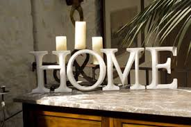 large white wooden letters graffiti home wooden candle and blue