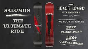 2018 salomon ultimate ride snowboard review blackboard