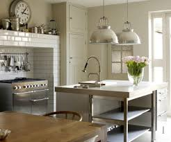 Stainless Steel Pendant Light Fixtures Kitchen Ideas Inner Pendant Lights In Blue Brighten Up This