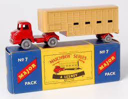 zobic dumper truck trucks for lot 2327 matchbox major pack no 7 cattle truck thames trader