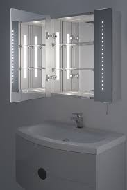 regal led bathroom cabinet with battery power benevola