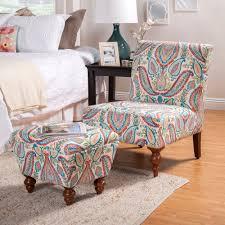 homepop susan armless accent chair ottoman set homepop
