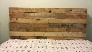 Pallet Wood Headboard Pallet Wood Headboard Principalchadsmith Info