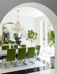 White Marble Dining Table Dining Room Furniture Green Velvet Dining Chairs With Marble Dining Table Contemporary