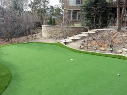 Backyard Putting Green Designs by Synthetic Turf Duncan Falls Ohio Outdoor Putting Green Backyard
