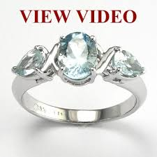 mothers rings white gold anzor jewelry 14k white gold aquamarine s ring 2 20 ct t w
